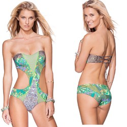 MAAJI - LIGHT GREEN - MONOKINI