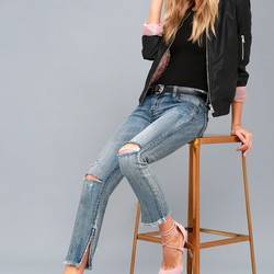 ONETEASPOON - BLUE SUEDE FREEBIRDS - JEAN