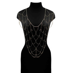 ESCORA - CHAIN NET TOP - JEWELRY