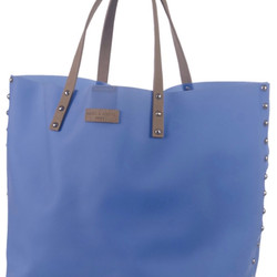 MARC&ANDRE - BLUE SIL - BEACH BAG