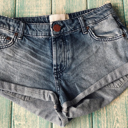 ONETEASPOON - HOLLYWOOD BANDITS - DENIM SHORT