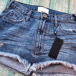 ONETEASPOON - TEXAN BLUE JUNKYARD - DENIM MINI SKIRT