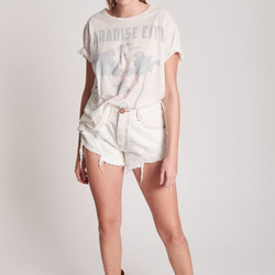 One Teaspoon - Paradise Fringed - Boyfriend Tee